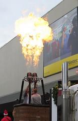 Hot Air (lancepetersphoto) Tags: christmas hotair balloon hamilton parade flame