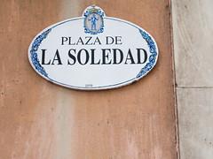 Plaza de la Soledad (Arrtez la Musique) Tags: plaza espaa square spain solitude loneliness gijn asturias praa isolation soledad piazza solido solitudine asturies lonesomeness xixn nachovegas cimavilla plazadelasoledad barriopescador