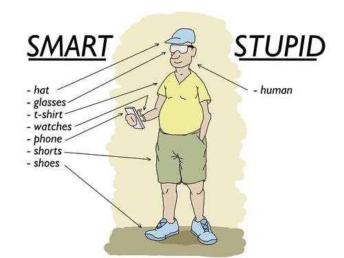 Smart vs Stupid by ezhikoff, on Flickr