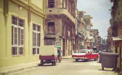 Classic (Marat1108) Tags: street camera old city houses sky building classic cars car vintage buildings photography photo nikon havana cuba perspective petrol