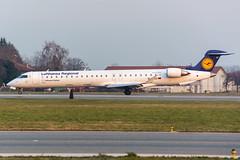 D-ACKI (MikeAlphaTango) Tags: airplane torino airport aircraft aviation turin runway lufthansa aereo avion crj bombardier cr9