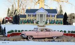 1955 Cadillac Fleetwood Series Sixty Special Sedan (JCarnutz) Tags: 1955 cadillac fleetwood diecast elvispresley franklinmint 124scale seriessixty