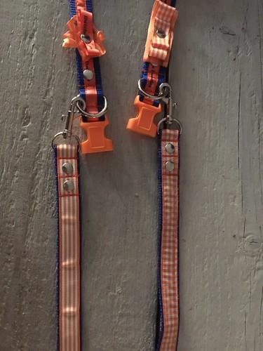 10mm-oranje-lint-met-blauw-bedrukt