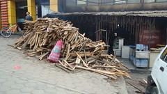 no LPG... Blockade (ashnakhanal) Tags: wood nepal cafe cycle kathmandu blockade firewood localrestaurant kathmandunepal deforastation nolpg lpgshortage