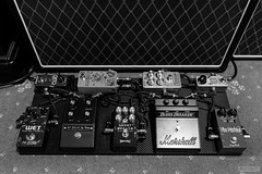 Pedalboard and its effects (Ray Kit) Tags: effects delay marshall cables beano pedals keeley rrr electronic pedalboard moog compressor ditto boost reverb looper reverberator analogman bluesbreaker skreddy neunaber drybell minifooger