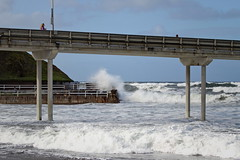 rough morning (BorrowedLightPhoto) Tags: pier wave foam ob crashing roughocean oceanbeachpier