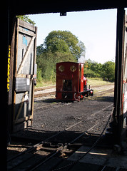 'Statfold' (SteveInLeighton's Photos) Tags: 2012 bedfordshire beds england september narrowgauge railroad railway leightonbuzzard steam locomotive hunslet statfold