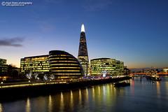 The Shard and City Hall More London (Nigel Blake, 15 MILLION views! Many thanks!) Tags: the |london uk england city cityscape dusk nigelblakephotography nigelblake night sunset shard
