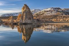 *Mono Lake @ Sierra Reflections* (albert.wirtz) Tags: albertwirtz monolake usa unitedstates vereinigtestaaten kalifornien california sierranevada sierrareflections reflections spiegelung wasser water waterreflections schnee snow tufas southtufas leevining nikon d700 statepark monolakestatepark