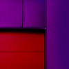 Red and purple / Rosso e viola (Giorgio Ghezzi) Tags: abstract astratto giorgioghezzi rollingshutter serranda