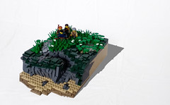 Scouting Party (IronBricks) Tags: foitsop lego diorama daniel morgan revolution revolutionary war american holy smokes people still read these things