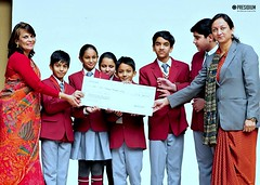 PRESIDIANS WELCOME SPARSH STUDENTS WITH OPEN HEARTS (PRESIDIUM SCHOOL DELHI) Tags: best school delhi senior secondary