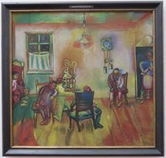 """""""Sabbath"""", 1910, Marc Chagall (1887-1985), Musée Ludwig, Cologne, Rhénanie du Nord-Westphalie, Allemagne. (byb64) Tags: muséeludwig peterludwig museumludwig cologne köln colonia rhénaniedunordwestphalie nordrheinwestfalen northrhinewestphalia renaniadelnortewestfalia renaniasettentrionalevestfalia rhénanie rhineland rheinland renania ville allemagne deutschland germany germania alemania europe europa eu ue rfa nrw stadt ciudad town citta city musée museum museo artmoderne xxe 20th artcontemporain expressionisme expressionismus derblauereiter diebrücke entartetekunst chagall marcchagall sabbath judaïsme fête feast fest"""