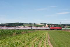 wb_160708_01 (Prefektionist) Tags: eisenbahn bahn railway rail railroad train trains westbahn österreich austria öbb oebb niederösterreich loweraustria nikon d700 siemens es64 taurus 1016 stgeorgenamybbsfelde