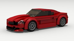 2018 Ford Mustang (Tom.Netherton1) Tags: 2018 2000s 2010s 2door classic vintage v8 vehicle ford fast muscle car cars mustang speed speedster sport sports coupe lego legos ldd legodigitaldesigner legocity digital designer dropbox download lxf pov povray american america auto