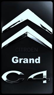 LOGO C4 Grand Picasso Citroën - Chevrons