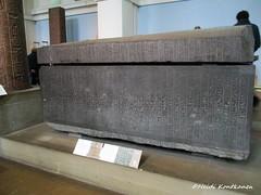 Sarcofagus from Late Period (konde) Tags: 26thdynasty lateperiod sarcophagus greywacke ancient ankhnesneferibre psamtekii romanperiod augustus medinethabu deirelmedina god´swifeofamun hieroglyphs britishmuseum