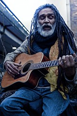 Street singer; against the cancer (SUNA_PHOTOGRAPHY) Tags: people streetartist singasongwriter colour london uk ladbrokegrove 2016