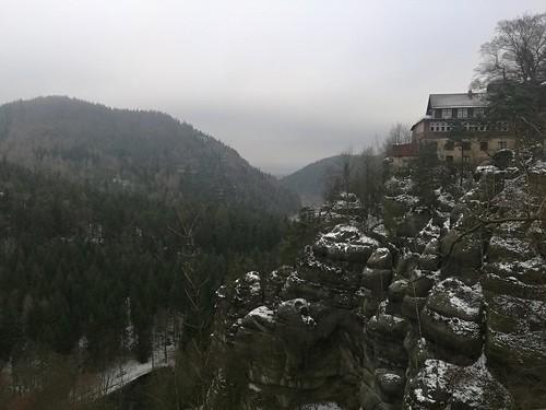 Opevněný hrad Oybin