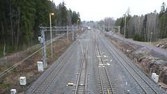 Keskuspuiston kevyen liikenteen silta (neppanen) Tags: sampen discounterintelligence helsinginkilometritehdas helsinki suomi finland silta bridge juna junarata train keskuspuisto reitti95 päivä95 reittino95 päiväno95