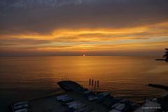 Sunrise    Diano Marina (DirkVandeVelde back) Tags: europa europ europe italy italie imperia sea sunrise daybrake zonsopgang liguria rivieradelfiori sony bloemenriviera outdoor buiten