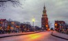 Montelbaanstoren (Skylark92) Tags: nederland netherlands holland amsterdam noordholland centrum centre canal bridge gracht water oudeschans montelbaanstoren malle jaap toren tower klok clock