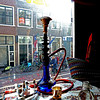 Delft, South Holland, Netherlands (pom.angers) Tags: panasonicdmctz10 march 2011 restaurant delft southholland netherlands europeanunion iran persian persia iranian hookah bong bike bicycle waterpipe