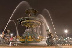 Fontaine et givre / Fountain and Frost (ManuS UWPhotos) Tags: placedelaconcorde paris d7200 denuit