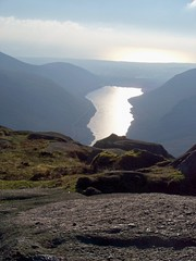 Silent Valley Reservoir, from Doan, Jan. 2017 (Great Uncle David) Tags: mournes silentvalley silentvalleyreservoir reservoirs northernireland