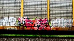 mp - tars - mosk (timetomakethepasta) Tags: tars freight train graffiti art autorack aa crew mp mosk fucked up thor