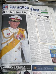 The official coronation of Crown Prince Maha Vajiralongkorn will take place in December 2017 (ashabot) Tags:
