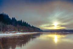Etang du Merle (Thos A.) Tags: eau étang lac lake nièvre bourgogne sun soleil