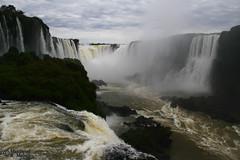 Iguassu Falls (2) (Mahmoud R Maheri) Tags: waterfall iguassufalls iguacu brazil water river fozdoiguacu clouds sky