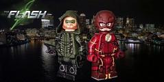 LEGO CW: Green Arrow (S5) & The Flash (S2+) (Sir Prime) Tags: lego dc thecw arrow green theflash custom moc