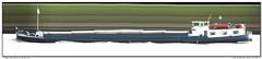 Lisa (Morthole) Tags: slitscan ship boat schip boot barge binnenvaart schiff rheinschiff lisa bulk vrachtschip