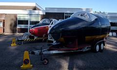WJ721 Canberra , Kinloss (wwshack) Tags: aircraftmuseum canberra jetprovost kinloss moray morayvia raf royalairforce scotland wj721