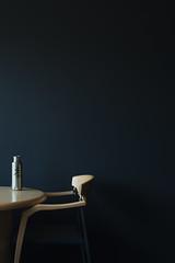 chair, table, water (k.cluchey) Tags: minimal minimalist min minimalism chair table shadow light 3570mm nikkor nikond5200 nikon