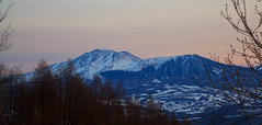 Mt.ASAMA (20EURO) Tags: asama twilight sunset volcano mountain travel nature landscape winter blue white snow pink evening dark sky 浅間山 嬬恋 北軽井沢 万座 高原 パノラマ