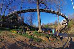 """Falls Park on the Reedy"" Walkway (Philip Osborne Photography) Tags: fallsparkonthereedy"