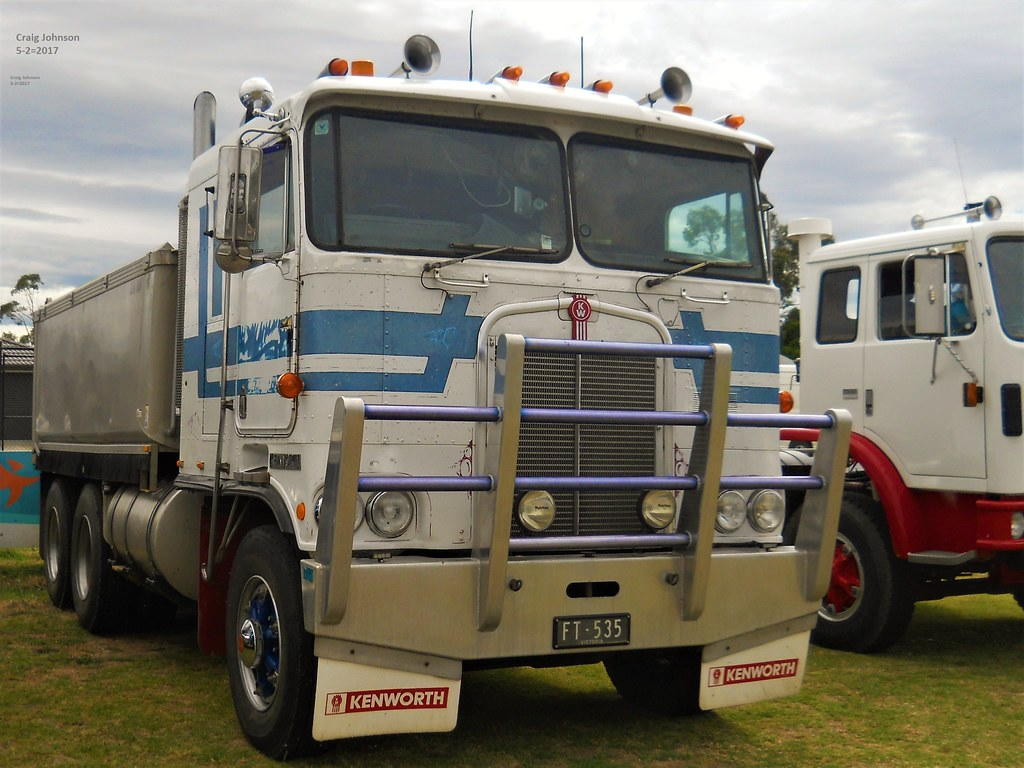 Photo By Secret Squirrel Squirrel6 Tags Secretsquirrel6truckphotos Craigjohnsontruckphotos Australiantrucks Bigrigs Kenworthtruck Cabover