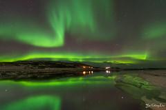 aurora borealis (FollowingNature (Yao Liu)) Tags: auroraborealis northernlights iceland followingnature river reflection icelandphotos icelandphototrip icelandwinter icelandnorthernlights icelandwinterphotos icelandphotography snow icelandphotoswinter icelandphotographylocations