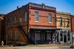 Downtown Jefferson (The Suss-Man (Mike)) Tags: georgia jacksoncounty jefferson sonyilca77m2 sussmanimaging thesussman oldbuilding architecture firehydrant
