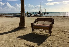 Land of Belize 2017 (James Patterson) Tags: iphone centralamerica beach dock sofa couch travellife travel goslow thisislife islandlife island cayecaulker belize
