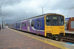 Northern Sprinter 150135 (Will Swain) Tags: station 1st march 2017 train trains rail railway railways transport travel uk britain vehicle vehicles country england english north west south county chorley lancashire northern sprinter 150135 class 150 135