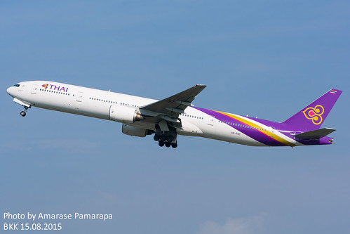 HS-TKC // Thai Airways International Boeing 777-3D7