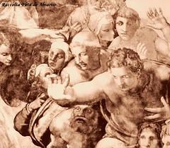 1540 ca Michelangelo particolare del Giudizio Universale nella Cappella Sistina (Roma ieri, Roma oggi di Alvaro de Alvariis) Tags: italy rome roma del cardinal michelangelo sanpietro raffaello 1550 raffaele 1508 1510 personaggi forse 1536 1540 giudiziouniversale riario 1512 1545 1570 1538 1558 1565 romascomparsa attribuita messadibolsena raccoltafotodealvariis vedutadelrioneborgodoveralostudiodimichelangelo statuadisgiovanninoattribuitaamichelangelopressosgiovannidefiorentini fotoalinarianni60 michelangelolacrocifissionedispietronellacappellapaolina benvenutocelliniritrattodalvasari personaggimichelangeloinunaminiaturadelcodiceescurialense difdehollandia scaterinadellecavallette piazzaspietroborgonuovo digadosio ludovicoariostoritrattodaltiziano cappellasistinaparticolaredellasibillacumana villadellafarnesinasaladellagalateatesta peruzzi1512il michelangelomodelloinlegnodellacupoladisanpietro fotodanonimoani60 michelangelodisegnoperunacrocifissione michelangelocartonepreparatorio michelangeloparticolaredisantiesantedelgiudiziouniversale michelangeloparticolaredelgiudiziouniversalenellacappellasistina bustodimichelangelocopiadadanieledavolterranelpalazzodeiconservatori