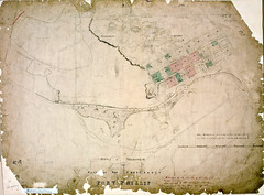 Town of Melbourne and Plan of the Settlement of Port Phillip, 1837 (Public Record Office Victoria) Tags: history map plan australia melbourne settlement prov portphillip publicrecordofficevictoria
