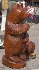 Bear (FourEyedVisions) Tags: bear craft knickknacks handycraft