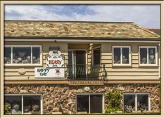 Teddy Bear House (Sugardxn) Tags: california house holiday southwest animals photoshop canon stuffed tourist socal teddybear balboa animalplanet balboaisland beary picswithframes canoneos7d canon7d sugardxn garypentin