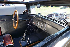 1927 Ford HotRod (bballchico) Tags: 1927 ford modelt chopped sedan hotrod terryg sylvieg arlingtondragstripreunionandcarshow arlingtoncarshow interior 206 washingtonstate arlingtonwashington